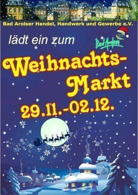 Weihnachtsmarkt in Bad Arolsen