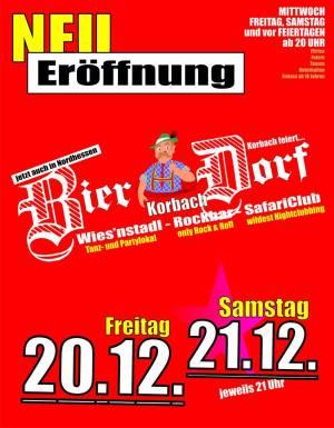 Bierdorf öffnet auch heute nicht! - Neueröffnung aufgrund neuer Auflagen erst 2014