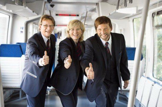 Auf Achse! Neue Anschluss-Möglichkeiten der NordWestBahn.