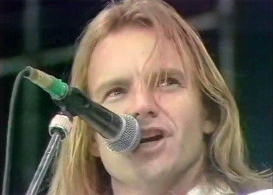 Sting - Every Breath you take [Live,1988] Wembley Nelson Mandela 70th Birthday Tribute concert