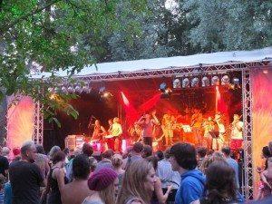 Worldmusicfestival in Schlosspark Loshausen