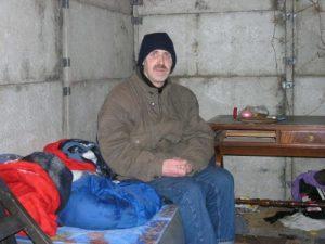 Obdachloser in der Kälte-1