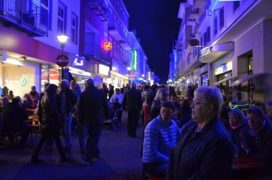 Blue Night 2015 in der Bad Oeynhausener Innenstadt