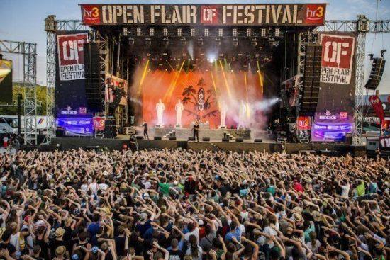 Open Flair 2016 - neu bestätigt: Sum 41, Madsen, Talco, Ok Kid, Beach Slang, Cäthe Fjørt u.a