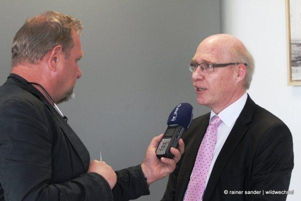 Flughafenjubiläum: Finanzminister Dr. Thomas Schäfer zu Gast