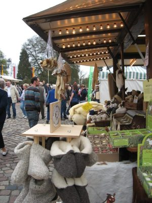Der Markt am Schloss in Bad Arolsen