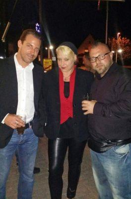 v.l.n.r.: Sebastian Möller, Diana Riedler, Tim Lenhoff