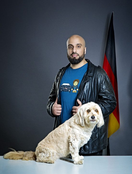 Staatsfreund Nr.1: Abdelkarim im April 2017 in Göttingen