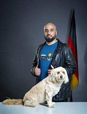 Staatsfreund Nr.1: Abdelkarim im April 2017 in Göttingen