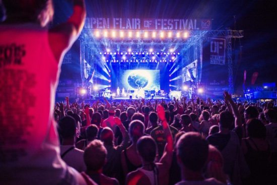 Open Flair 2018 - mit den Beatsteaks, Cypress Hill, Kraftklub uvm.