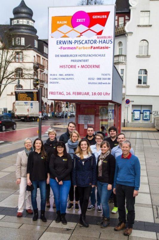 VA Formen, Farben, Fantasie im Erwin-Piscator-Haus, Studierende 16.02.18 - Foto: Thomas Breme