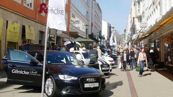 """Autoschau im Quartier: """"Auto-Mobil"""" 2018 erneut in der Wilhelmsstraße"""