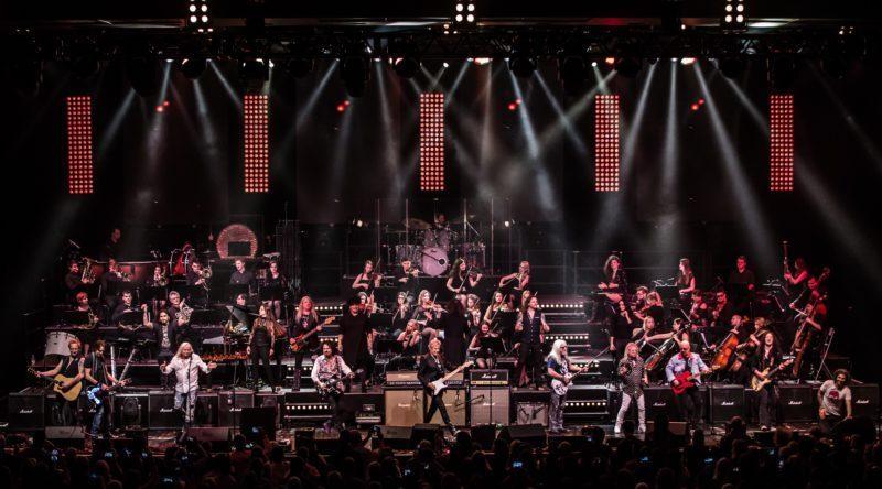 Rock Symphonien - Orchester, große Sänger und harte Gitarren