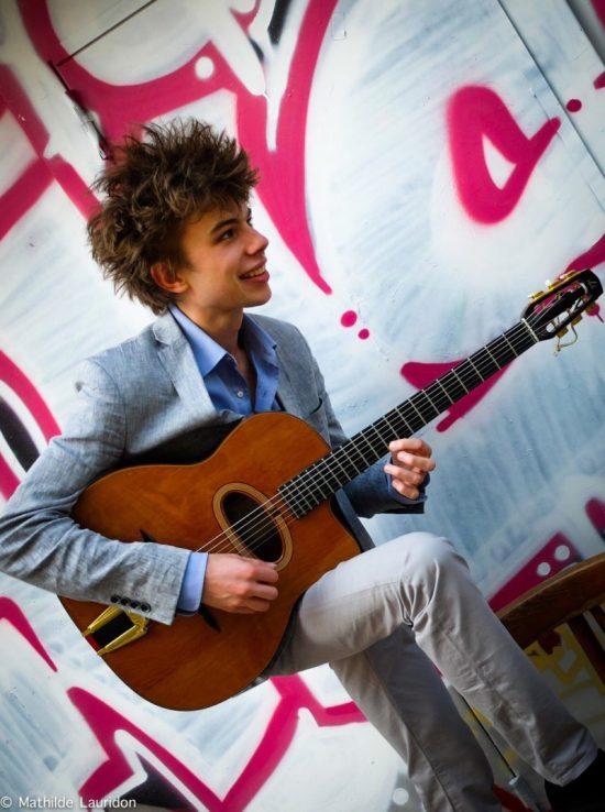 Antoine Boyer wird auf der Nacht der Gitarren sein