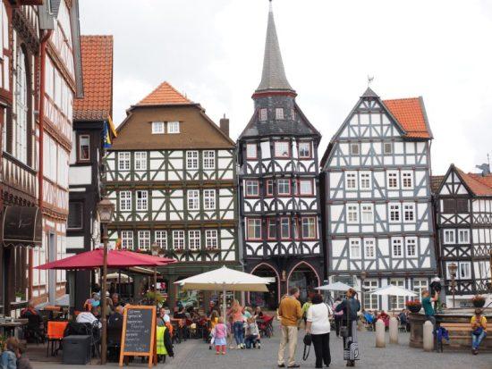 Herbstmarkt in historischem Ambiente - das Erntedankfest Fritzlar