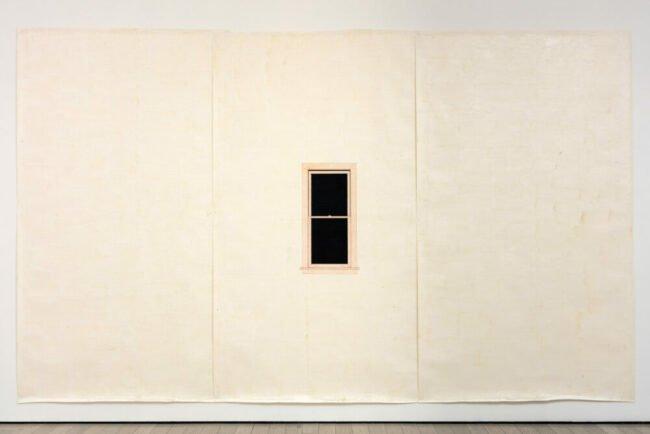 Toba Khedoori   Untitled window 1999   (c) Toba Khedoori Emanuel Hoffmann Stiftung Depositum in der oeffentlichen Kunstsammlung Basel   (c) Fredrik Nilsen