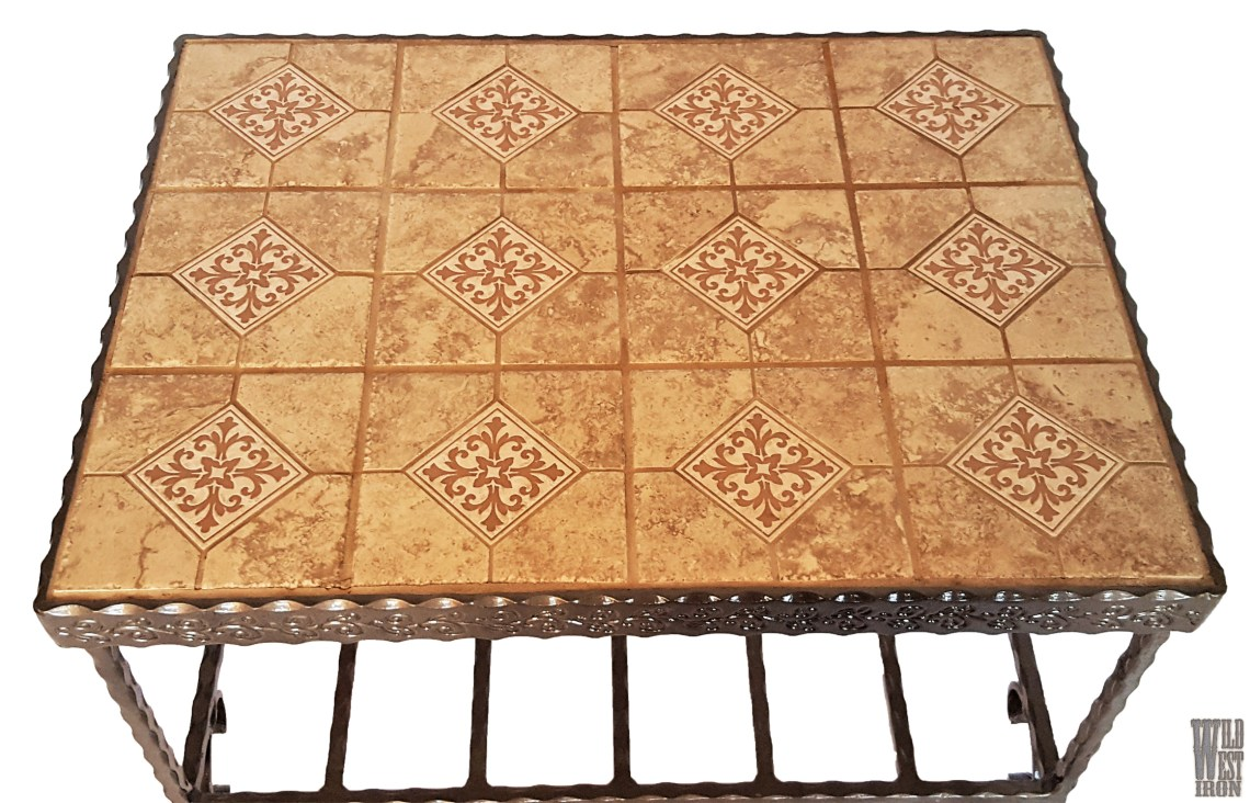 Tile End Table Top