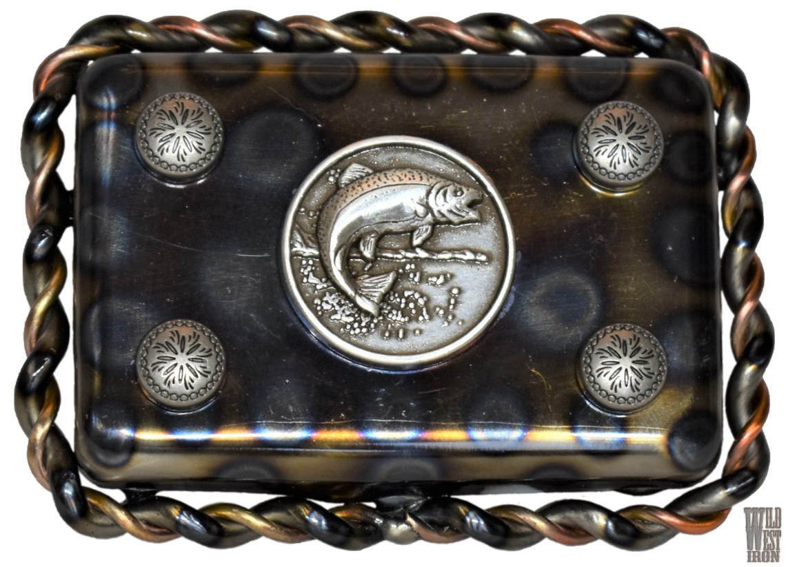Fish Square Belt Buckle Variation Two