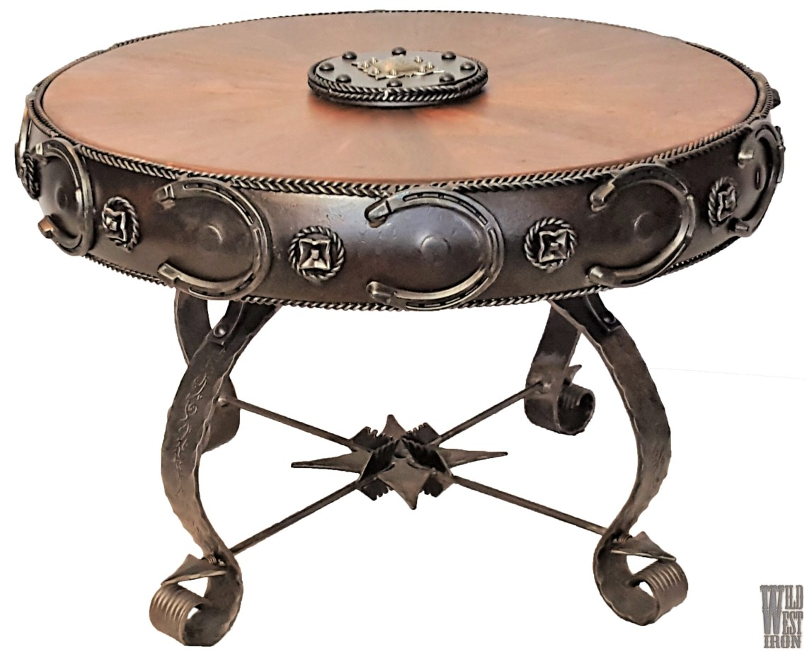 Round Coffee Table Variation Four Front
