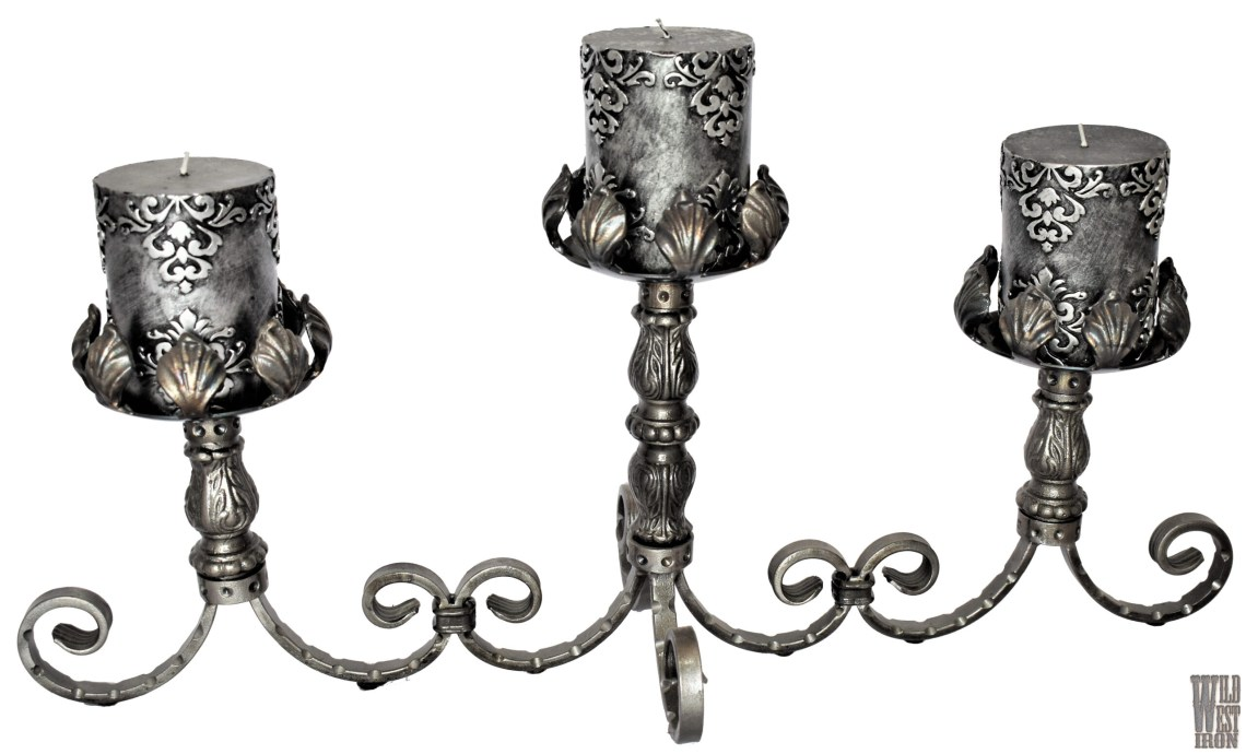 Triple Candle Holder Variation Two