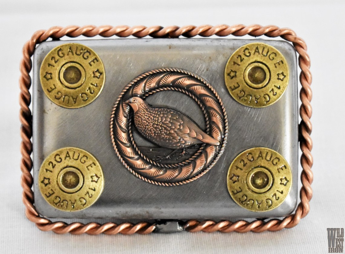 Grouse Square Belt Buckle