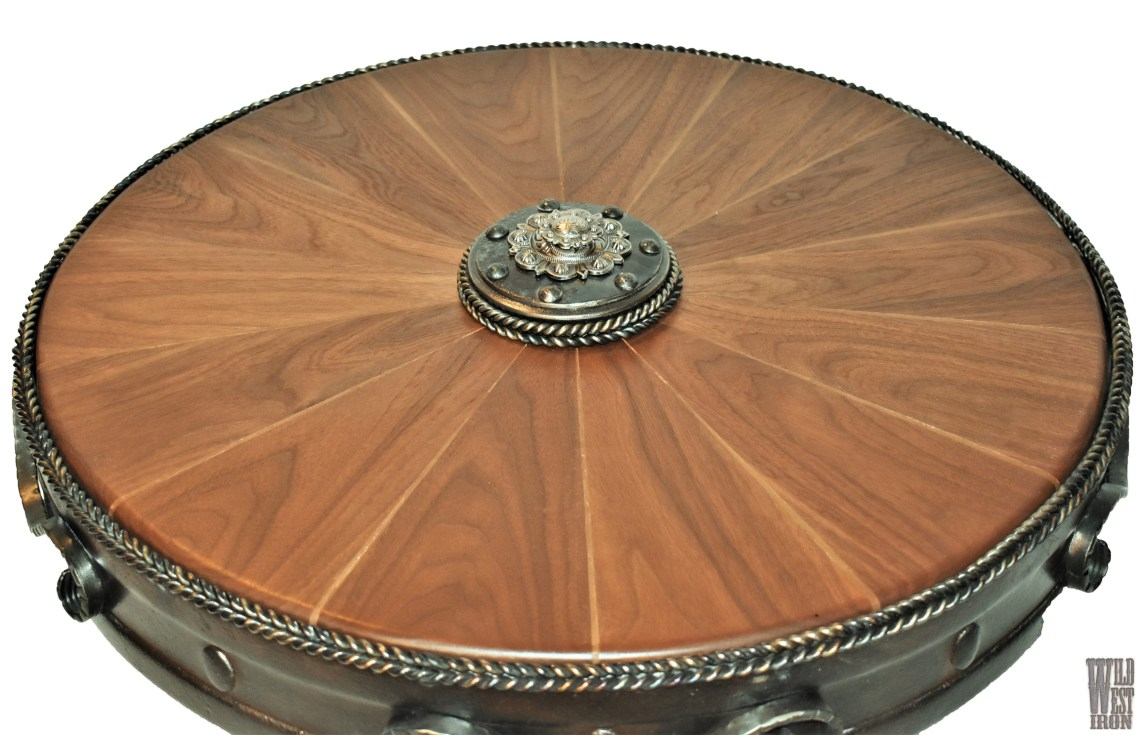 Round Coffee Table Variation Six Front