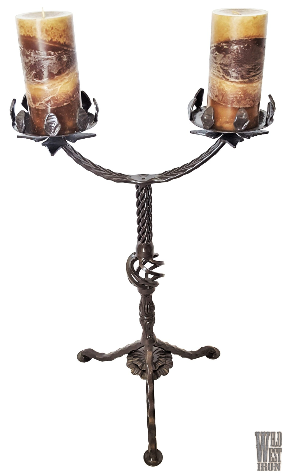 Dual Candle Holder View Two