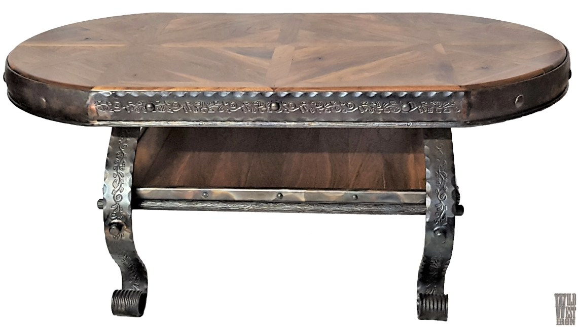 Oval Coffee Table Variation One Front