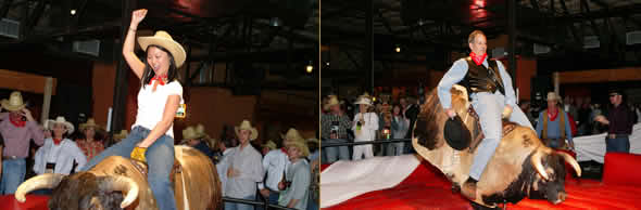 Mechanical Bull Riding at your Western Party