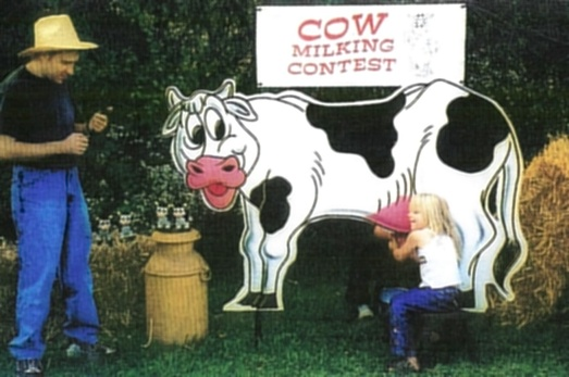 Cow Milking Competition