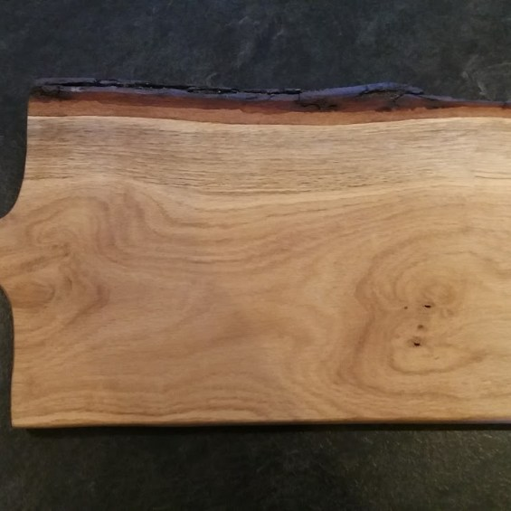 Paddle Food Board. Oak