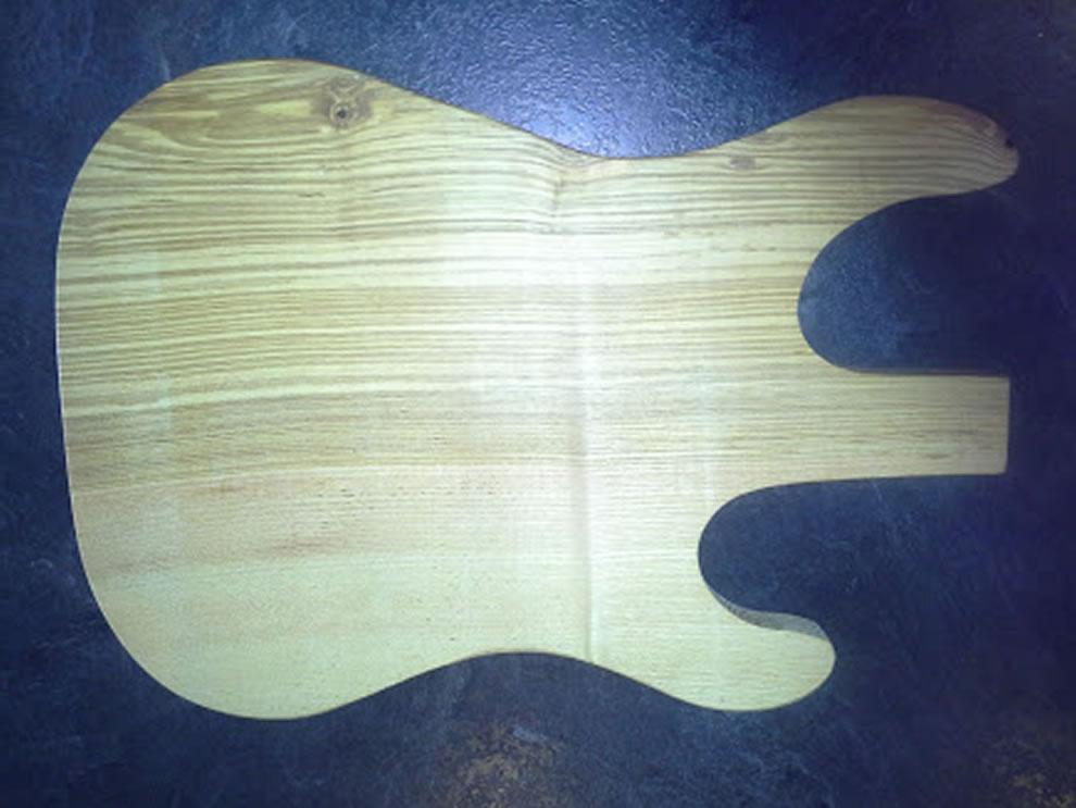 Stratocaster Guitar Food Presentation Board