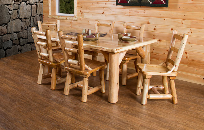 amish made kitchen cabinets vintage table and chairs wildwoodrustics -wildwood rustics handcrafted rustic log ...