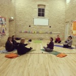 Monday: First class ready to go at Sherston village hall.