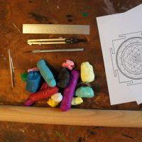 How to make a 3D Sri Yantra