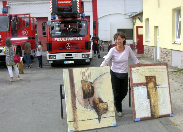 Kunst bei der Feuerwehr