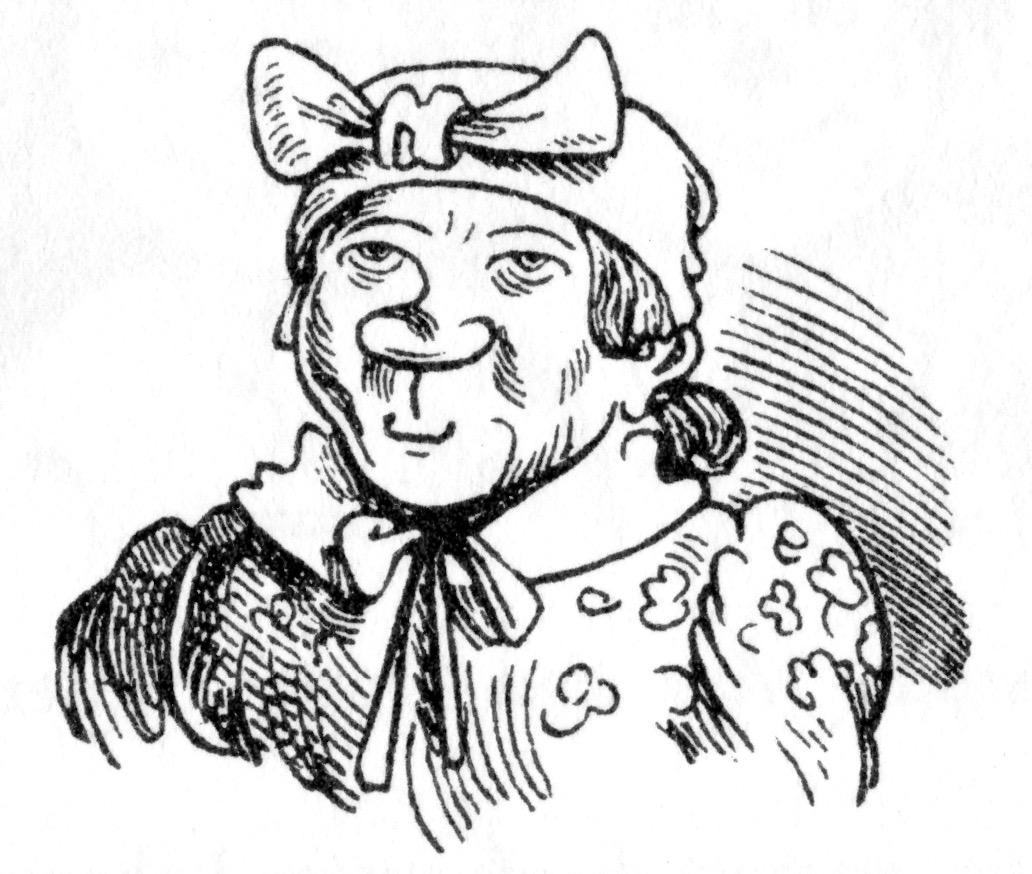 Witwe Bolte Im Ersten Streich Von Max Und Moritz