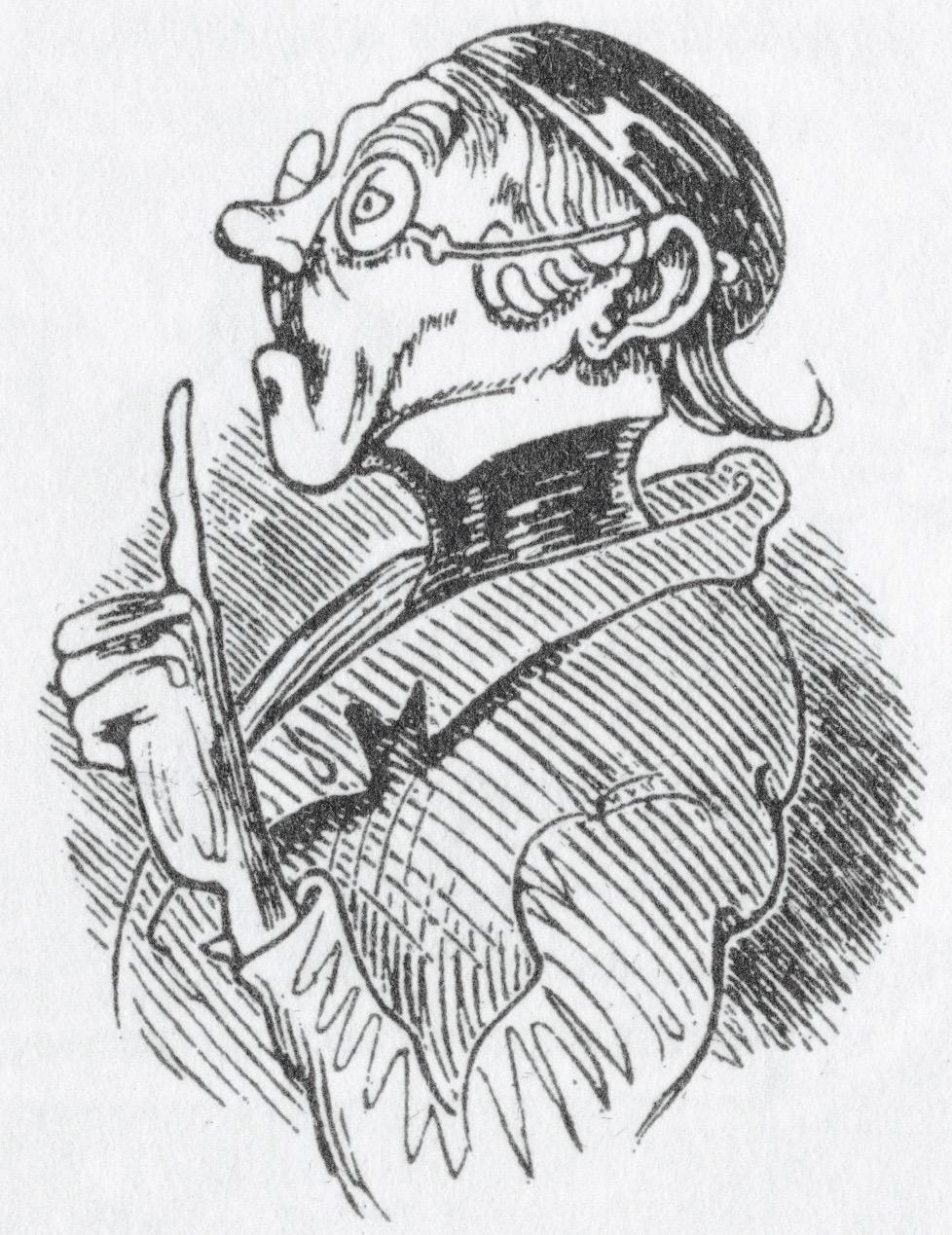 Lehrer Lämpel In Max Und Moritz Von Wilhelm Busch