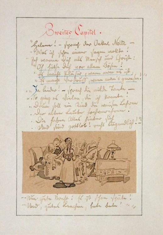 Wilhelm Busch (1832–1908), aus: Die Fromme Helene, 1871, Wilhelm Busch – Deutsches Museum für Karikatur und Zeichenkunst