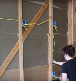diy garage wiring wiring diagram mega diy garage wiring [ 2513 x 1344 Pixel ]