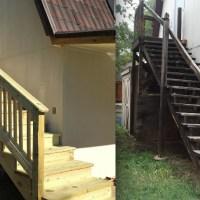 Building an Outdoor Staircase