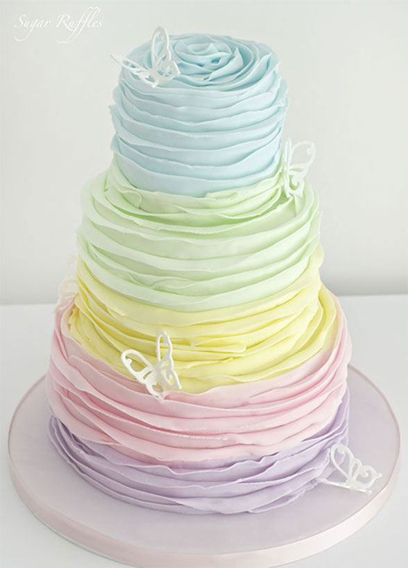 10 Prettiest Pastel Desserts For A Spring Soiree