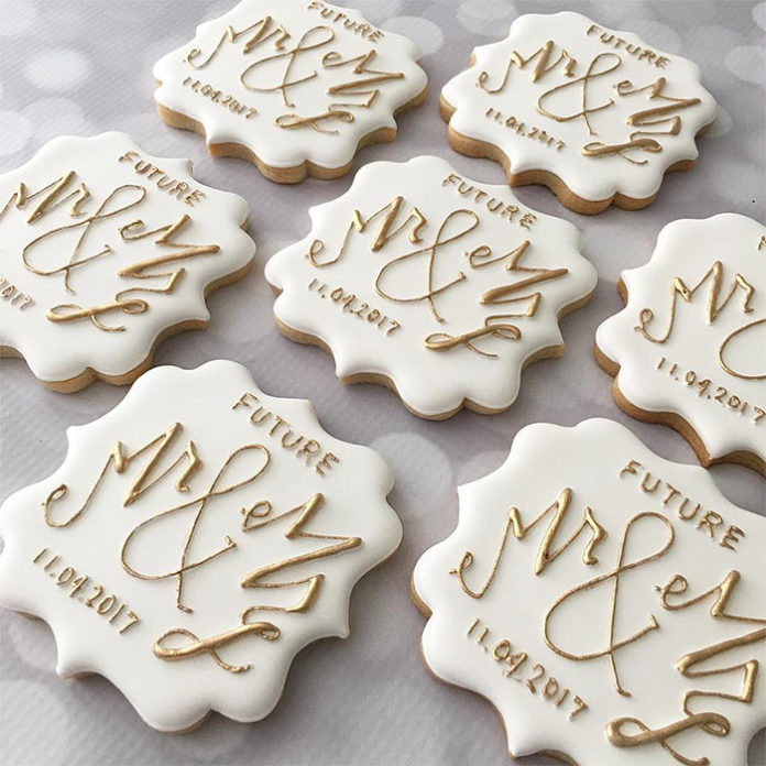 The Most Adorable Wedding & Engagement Cookies For Your Sweet Tooth