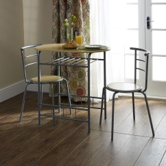 Dining Chair Sets Of 4 Costco Living Room Chairs Breakfast Set 3 Piece | Wilko