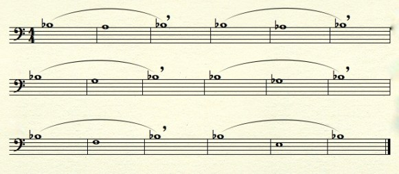 Sustained Long Tones Variation