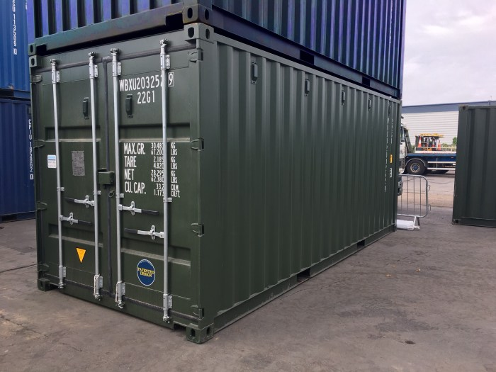 Willbox WBXU Shipping container