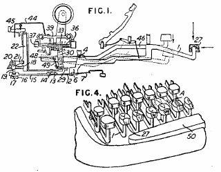 ALPINA portable typewriters
