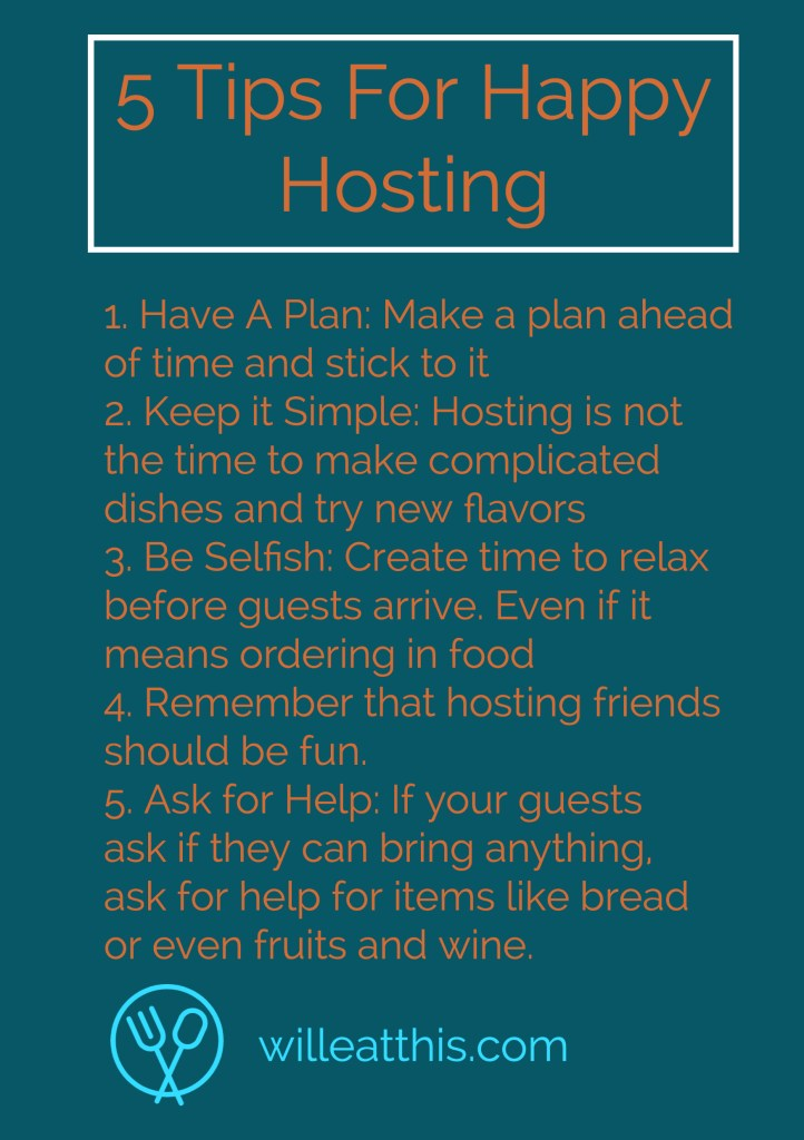 tips for happy hosting