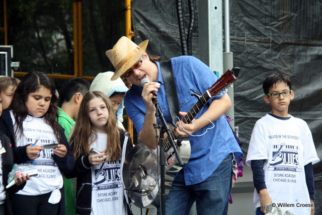Blues in the schools - Willem Croese