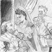Illustration from Hamlet